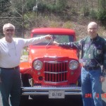 Jamie's 1960 pickup - Pop Coleman hands over the keys