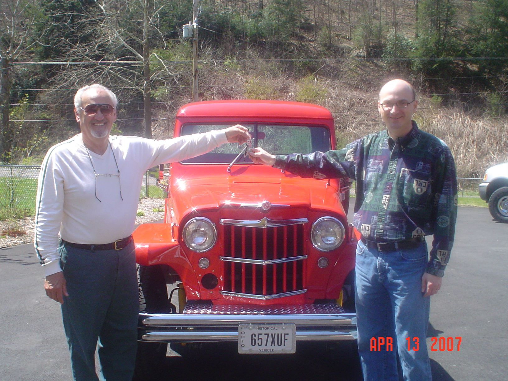 Jamies 1960 Willys Pickup Truck The Build Jeep For Sale Used Pop Coleman Hands Over Keys