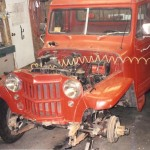 Jamie's 1960 pickup - beginning of the build