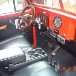 Jamie's 1960 pickup - interior